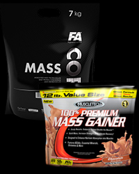 100% Premium Mass Gainer / CORE Mass - 30% от MuscleTech, FA Nutrition
