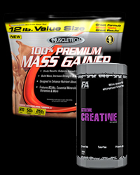 100% Premium Mass Gainer / Xtreme Creatine - 30% от MuscleTech, FA Nutrition