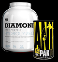 Animal Pak / Diamond Hydrolised Whey - 30% pentru diete