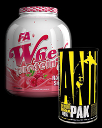 Animal Pak / Whey Protein (Any Flavor) - 30% от Universal Animal, FA Nutrition