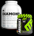 Assault 2.0 / Diamond Hydrolised Whey - 30% pentru diete