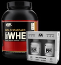 100% Whey Gold Standard 5 Lbs. / Multivitamin AM-PM - 30% pentru diete