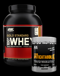 100% Whey Gold Standard 5 Lbs. / Xtreme Anticatabolix - 30% от Optimum Nutrition, FA Nutrition