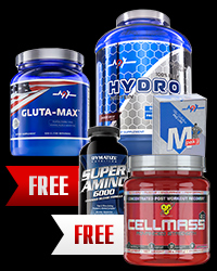 MegaGrowth Stack 3+2 FREE от BSN, Dymatize, MEX