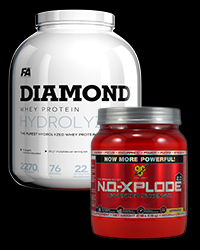 N.O. Xplode 2.0 / Diamond Hydrolised Whey -30% от BSN, FA Nutrition