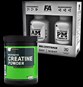 Creatine Powder / Multivitamin AM & PM Formula - 30% pentru diete