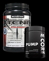 Xtend Intra-Workout Catalyst! - New Formula / CORE Pump - 30% от Scivation, FA Nutrition