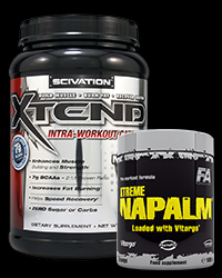 Xtend Intra-Workout Catalyst! - New Formula / Xtreme Napalm - 30% от Scivation, FA Nutrition