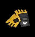 Fitness Gloves /Black and Yellow with wrist wrap / pentru diete