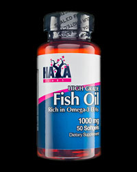 High Grade Fish Oil 1000 mg от Haya Labs