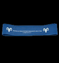 Light blue rehabilitation band Level 5 pentru diete