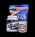 PROMO STACK MEX Size Max + Usp Labs Jack3d Micro + Syntrax SuperGLU 500g. pentru diete