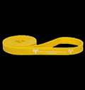 Yellow exercise band  2.5 - 7 kg pentru diete