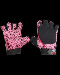 Women gloves Pink Flower от Armageddon Sports
