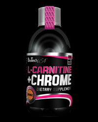 Liquid L-Carnitine + Chrome от BioTech USA