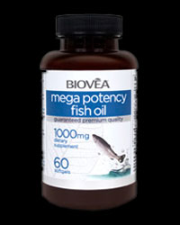 Mega Potency Fish Oil 1000 mg от BIOVEA