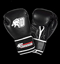 Boxing gloves - Black D-Logo - Leather pentru diete
