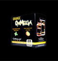 Orange OxiMega Greens/Fish Oil Kit pentru diete