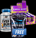 Everbuild Everburn / Mex Carni Shot Box /  Nitro Pure Whey Gold FREE pentru diete