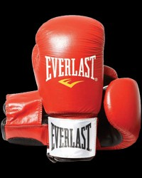 Boxing Gloves Leather Red от Everlast