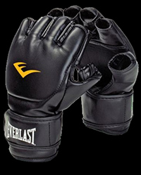 MMA and Boxing Gloves Open Thumb - Polyurethane от Everlast