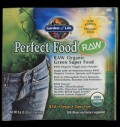 Perfect Food / RAW Organic Green Super Food pentru diete