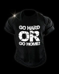 T-Shirt - Go HARD от Fit One