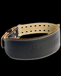 Leather Padded Belt 15 cm от Harbinger