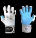 HUMANX - Women's X3 Competition Open Finger WristWrap Gloves pentru diete