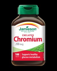 Chelated Chromium 200 mcg от Jamieson