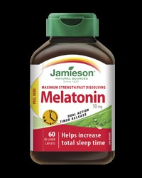 Melatonin 10 mg Dual Action Timed Release от Jamieson