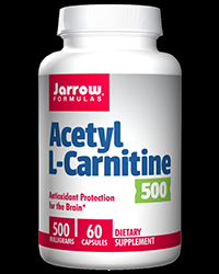 Acetyl L-Carnitine 500 mg от Jarrow Formulas