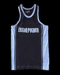 Tank Top Blue and white от Legal Power