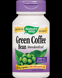 Green Coffee Bean 500 mg от Nature's Way