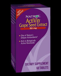 Activin Grape Seed Extract 50 mg от Natrol