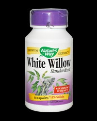 White Willow 450 mg от Nature's Way