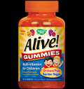 Alive!® Children's Multi Vitamin Gummies pentru diete