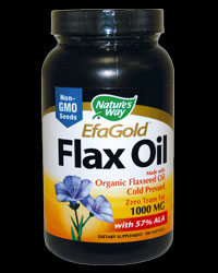 EFA Gold Flax Oil от Nature's Way