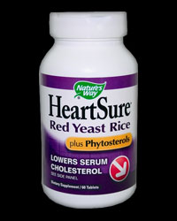 Heartsure Red Yeast Rice Plus Phytosterols от Nature's Way