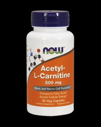 Acetyl L-Carnitine от NOW Foods
