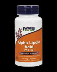 Alpha Lipoic Acid 250 mg от NOW Foods