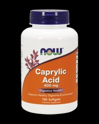 Caprylic Acid 600 mg от NOW Foods