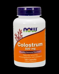 Colostrum 500 mg от NOW Foods