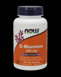 D-Mannose 500 mg от NOW Foods