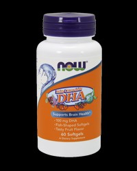 DHA 100 mg Kid's Chewable от NOW Foods