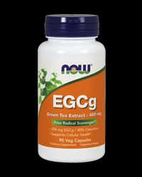 EGCG Green Tea Extract 400 mg от NOW Foods