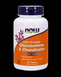 Glucosamine & Chondroitin 750/600 mg от NOW Foods
