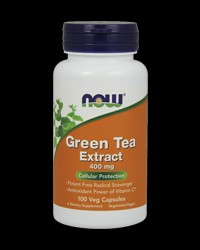 Green Tea Extract 400 mg от NOW Foods