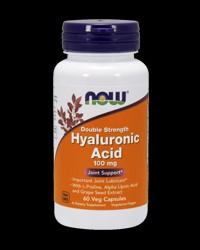 Hyaluronic Acid 100 mg от NOW Foods