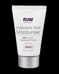 Hyaluronic Acid AM Moisturizer от NOW Foods